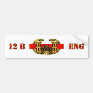 ENGINEER 12B BUMPER STICKER