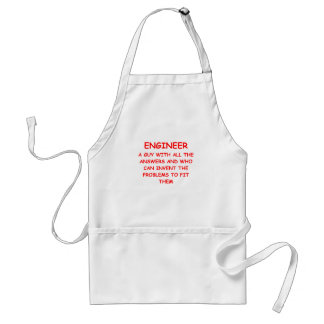 ENGINEER ADULT APRON