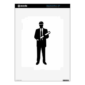 Engineer Architect Decals For The iPad 2