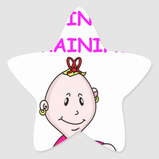 ENGINEER baby Star Sticker