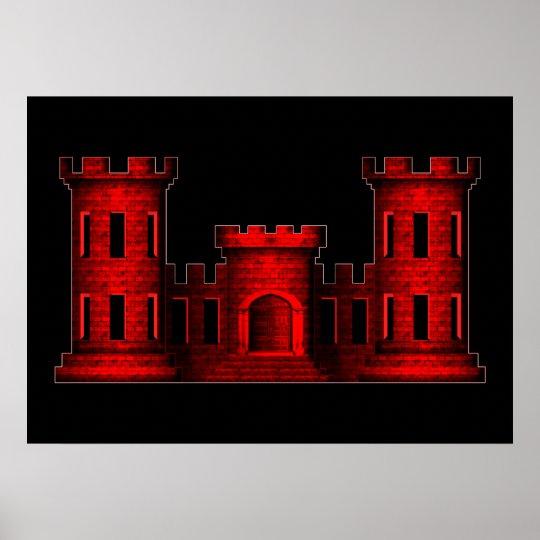 Engineer Castle Poster Zazzle Com