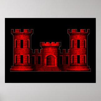 Engineer Castle Print