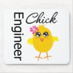 Engineer Chick Mouse Pad