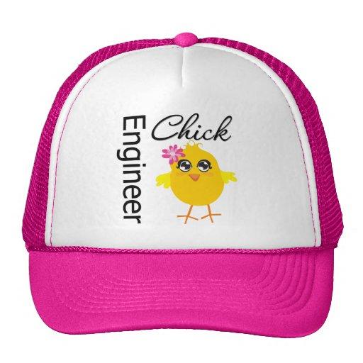 Engineer Chick Trucker Hat