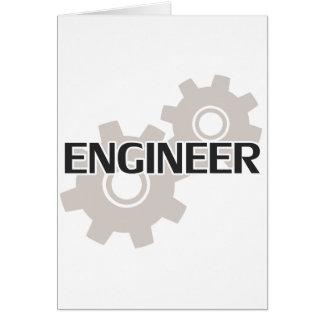 Engineer Clockwork Gears Card