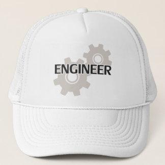 Engineer Clockwork Gears Trucker Hat