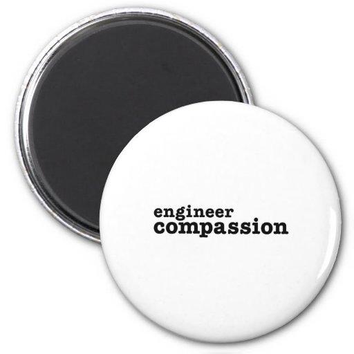 Engineer Compassion Fridge Magnet