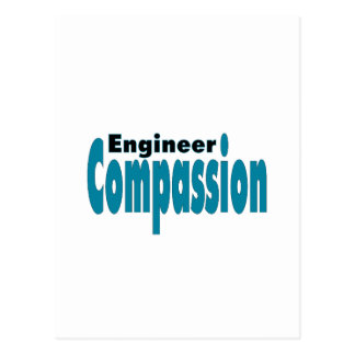 Engineer Compassion Postcard