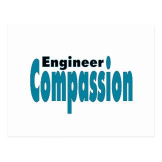 Engineer Compassion Postcard