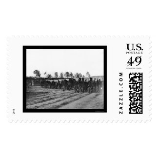 Engineer Corps Ambulance Train 1863 Stamp