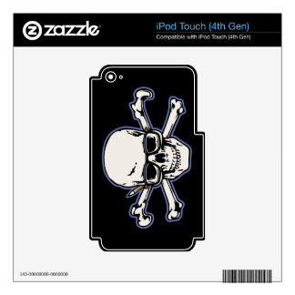 Engineer & Crossbones Decal For iPod Touch 4G