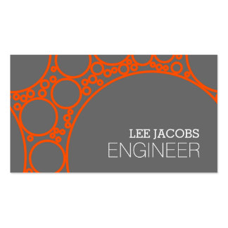 Engineer, Engineering, Architect, Builder Business Double-Sided Standard Business Cards (Pack Of 100)