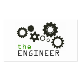 Engineer, Engineering, Architect, Builder Double-Sided Standard Business Cards (Pack Of 100)
