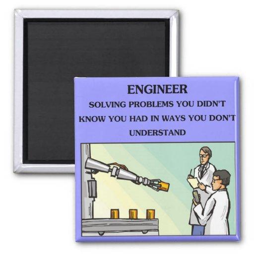 engineer engineering joke fridge magnet