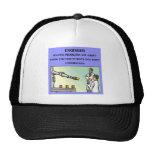engineer engineering joke trucker hat