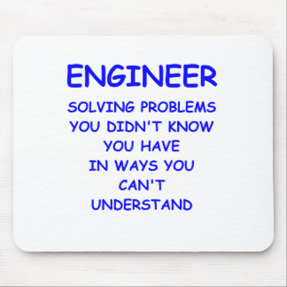 engineer engineering mouse pad