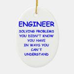 engineer engineering ornament