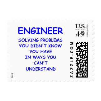 engineer engineering postage