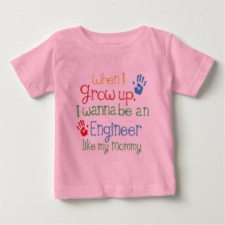 Engineer (Future) Like My Mommy Baby T-Shirt