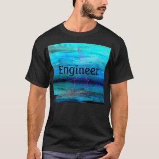 Engineer Geek Cool Nerd Tshirt 2 by CricketDiane