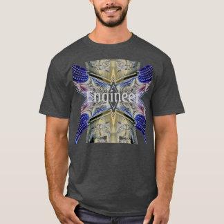Engineer Geek Cool Nerd Tshirt 3 by CricketDiane