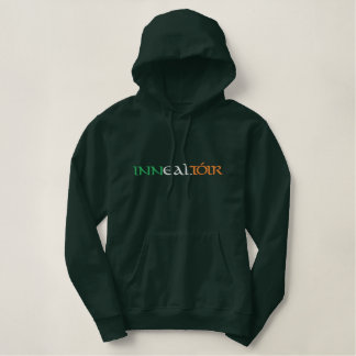 """""""Engineer"""" In Gaelic Irish Flag Colors Embroidered Embroidered Hoodie"""