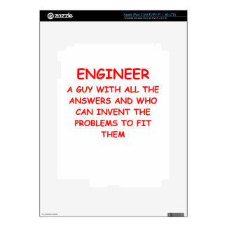 ENGINEER iPad 3 DECAL