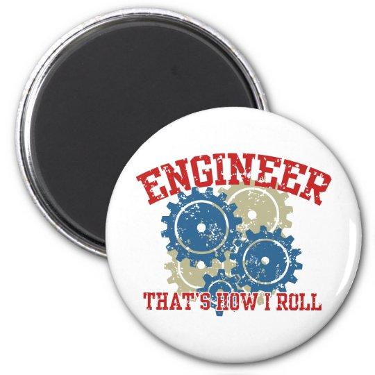 Engineer Magnet