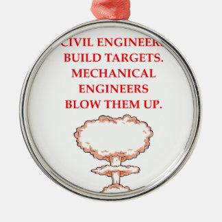 ENGINEER METAL ORNAMENT