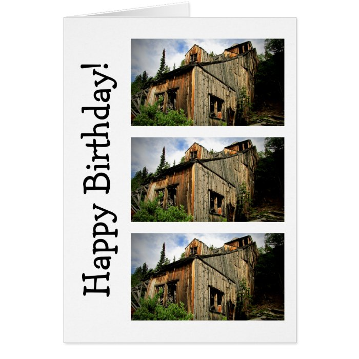 Engineer Mine Happy Birthday Card