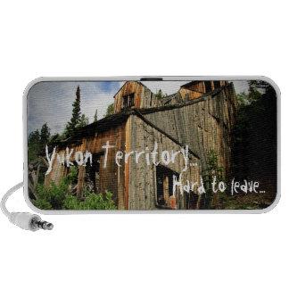 Engineer Mine; Yukon Territory Souvenir Mini Speaker