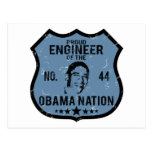 Engineer Obama Nation Postcard