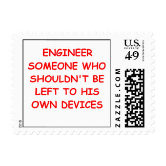 engineer postage stamps
