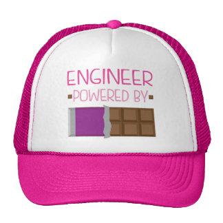 Engineer Powered By Chocolate Trucker Hat
