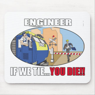 ENGINEER PRODUCTS- TRAINS - LOCOMOTIVE - LIRR MOUSE PAD