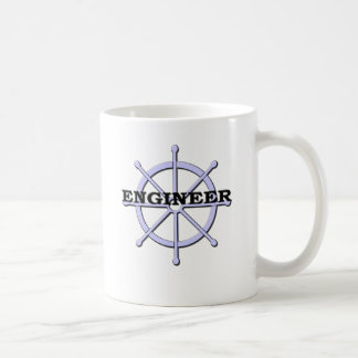 Engineer Ship Wheel Mugs