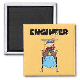 ENGINEER T-shirts and Gifts 2 Inch Square Magnet