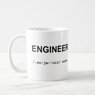 ENGINEER with Phonetic Symbols Mug