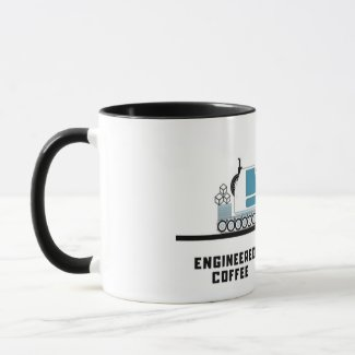 Engineered coffee mug