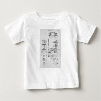 Engineering Blueprint Machinery Vintage Baby T-Shirt