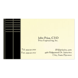engineering business card eggshell