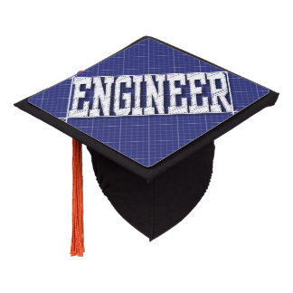 Engineering Degree Graduation Cap Topper