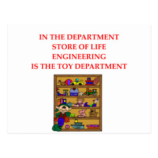 ENGINEERING gifts Postcards