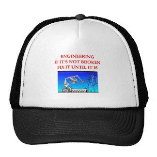 engineering trucker hats
