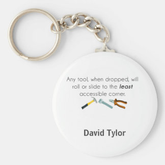 Engineering humor keychain
