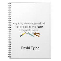 Engineering humor notebook