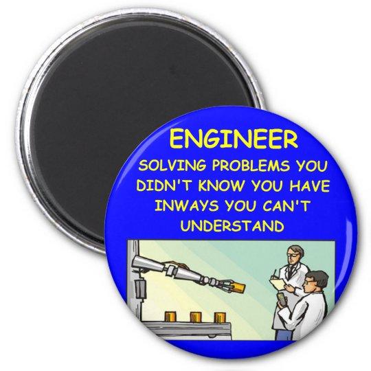 engineering joke magnet