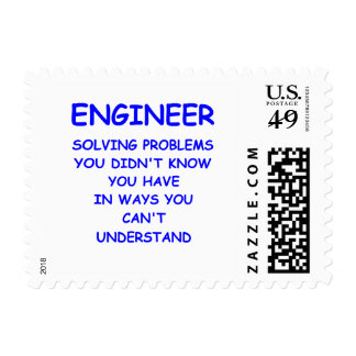 engineering postage stamps
