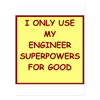 engineering post cards