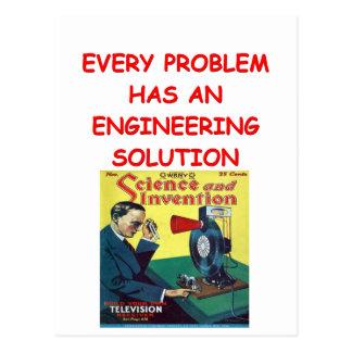 engineering postcards